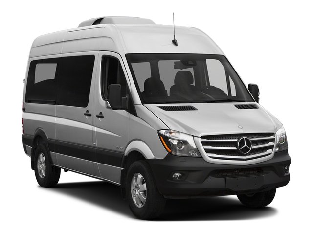 2017 Mercedes-Benz Sprinter Passenger Van Prices and Values Passenger Van 4WD side front view