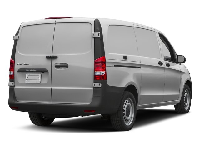 2017 Mercedes-Benz Metris Cargo Van Base Price Standard Roof 126 Wheelbase Pricing side rear view