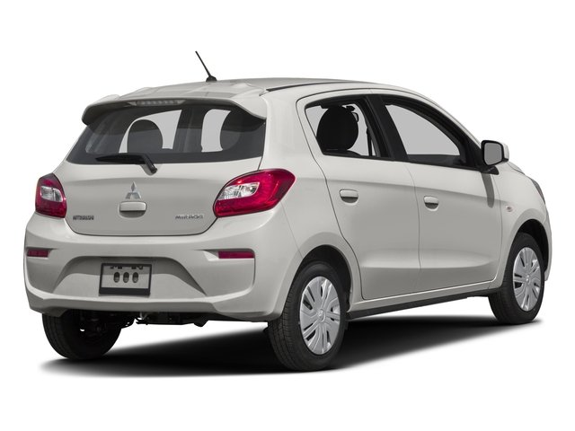 2017 Mitsubishi Mirage Pictures Se Cvt Photos Side Rear View