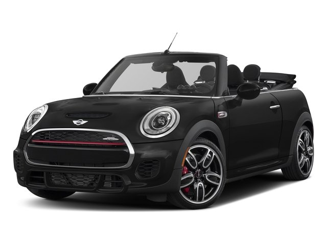 2017 MINI Convertible Pictures Convertible Convertible 2D JCW I4 Turbo photos side front view