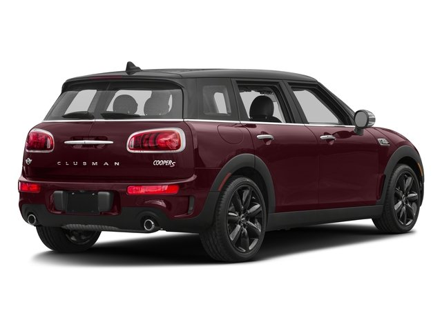 2017 MINI Clubman Prices and Values Wagon 4D Clubman S AWD I4 Turbo side rear view