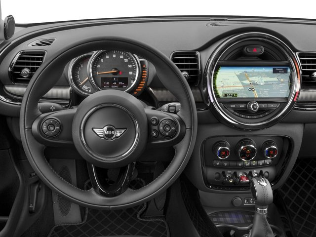 2017 MINI Clubman Prices and Values Wagon 4D Clubman S AWD I4 Turbo driver's dashboard