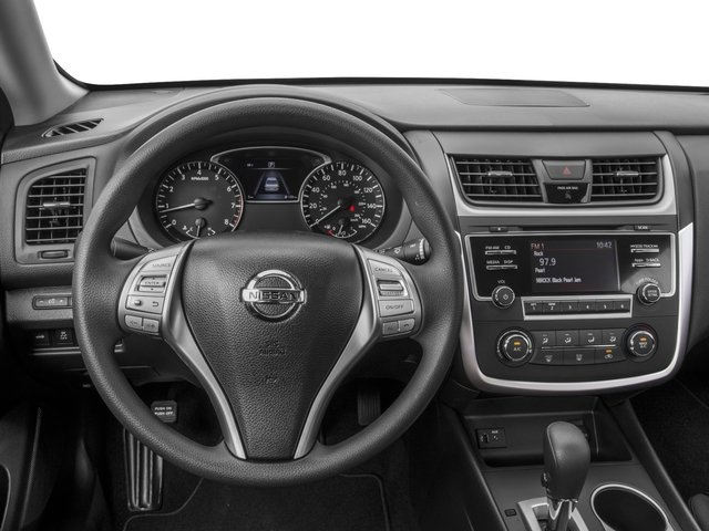 2017 Nissan Altima Prices and Values Sedan 4D I4 driver's dashboard