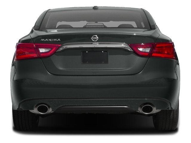2017 Nissan Maxima Prices and Values Sedan 4D SV V6 rear view