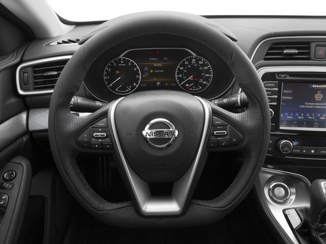 2017 Nissan Maxima Prices and Values Sedan 4D SV V6 driver's dashboard
