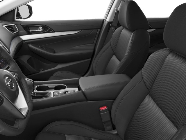 2017 Nissan Maxima Prices and Values Sedan 4D SV V6 front seat interior