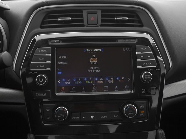 2017 Nissan Maxima Base Price SV 3.5L *Ltd Avail* Pricing stereo system