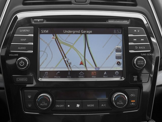 2017 Nissan Maxima Prices and Values Sedan 4D SV V6 navigation system