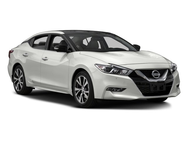 2017 Nissan Maxima Prices and Values Sedan 4D SL V6 side front view