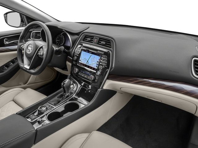 2017 Nissan Maxima Base Price SL 3.5L Pricing passenger's dashboard