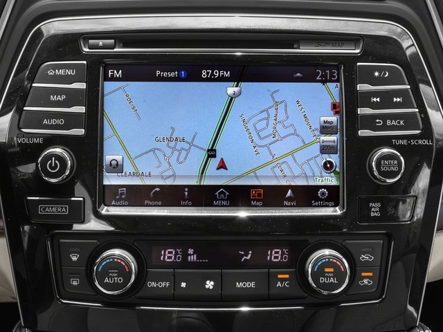 2017 Nissan Maxima Base Price SL 3.5L Pricing navigation system