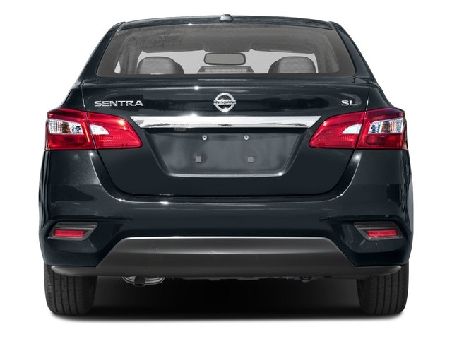 2017 Nissan Sentra Prices and Values Sedan 4D SL I4 rear view