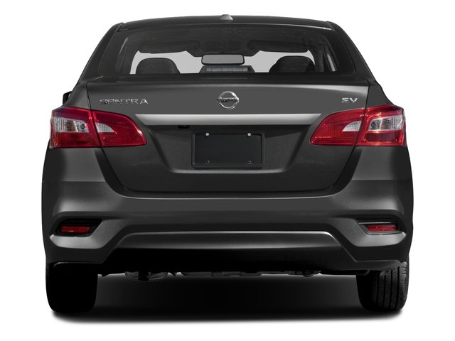 2017 Nissan Sentra Prices and Values Sedan 4D SV I4 rear view