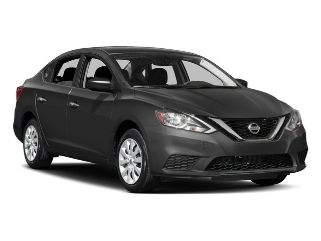 2017 Nissan Sentra Prices and Values Sedan 4D SV I4 side front view