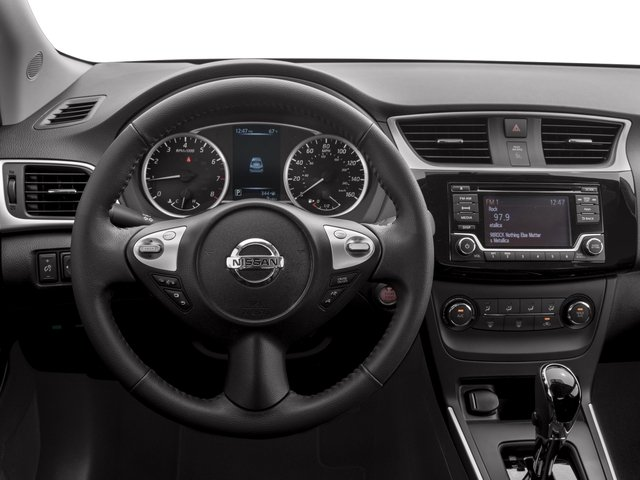 2017 Nissan Sentra Prices and Values Sedan 4D SV I4 driver's dashboard