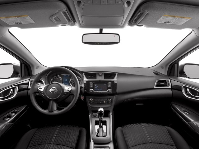 2017 Nissan Sentra Prices and Values Sedan 4D SV I4 full dashboard