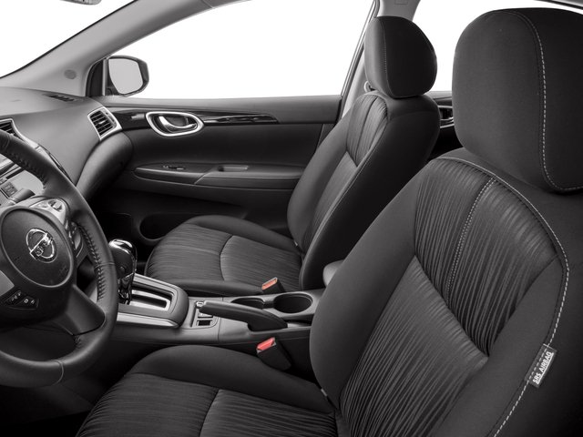 2017 Nissan Sentra Prices and Values Sedan 4D SV I4 front seat interior