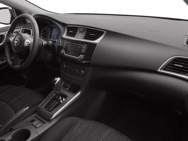 2017 Nissan Sentra Prices and Values Sedan 4D SV I4 passenger's dashboard