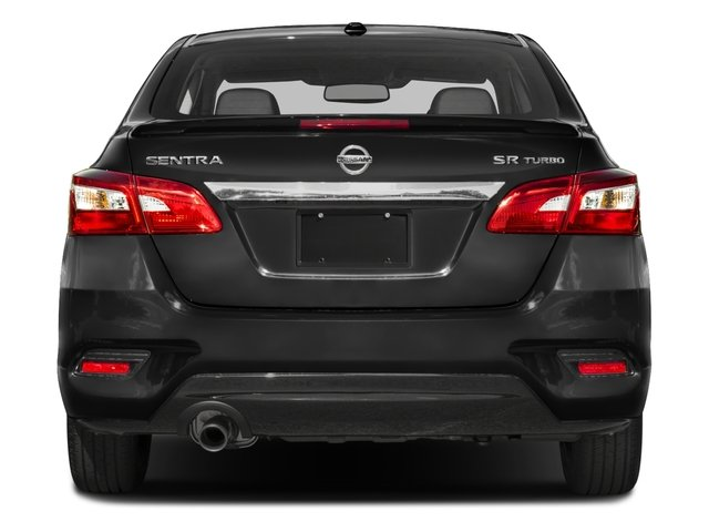 2017 Nissan Sentra Prices and Values Sedan 4D SR I4 Turbo rear view