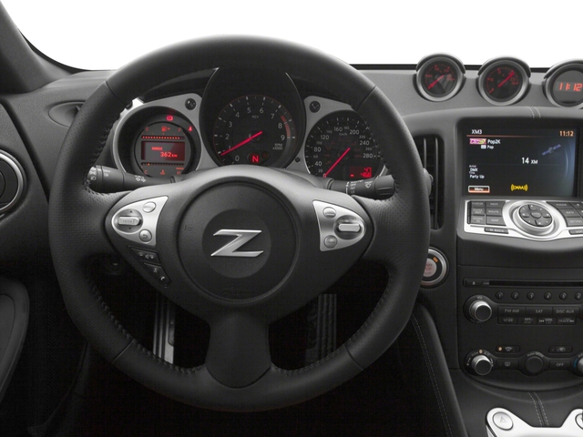 2017 Nissan 370Z Prices and Values Coupe 2D Touring V6 driver's dashboard