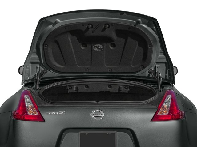 2017 Nissan 370Z Base Price Roadster Auto Pricing open trunk