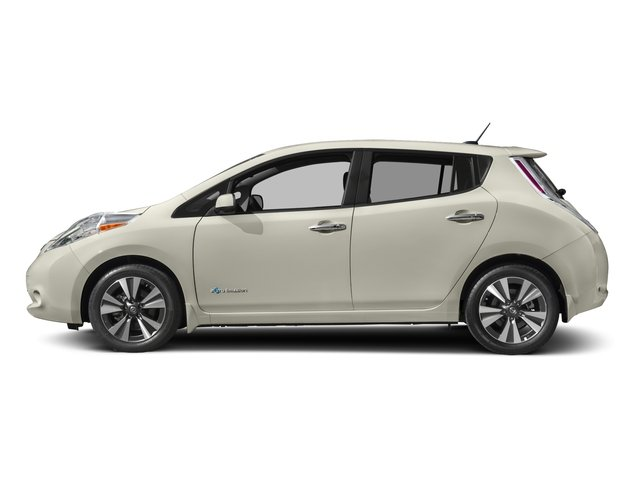 2017 Nissan LEAF Base Price SV Hatchback Pricing side view