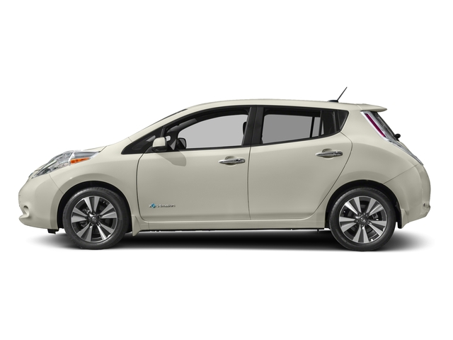 2017 Nissan LEAF Pictures LEAF SV Hatchback photos side view