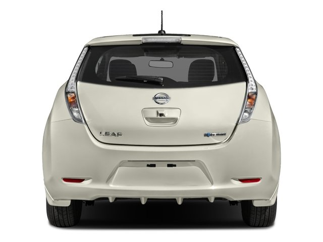 2017 Nissan LEAF Pictures LEAF SV Hatchback photos rear view
