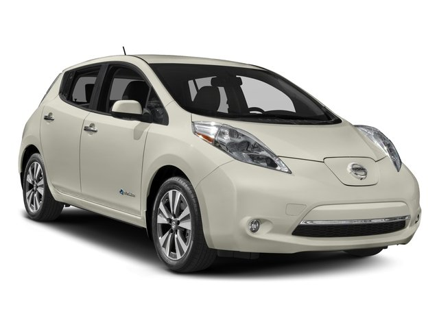 2017 Nissan LEAF Prices and Values Hatchback 5D SV Electric side front view