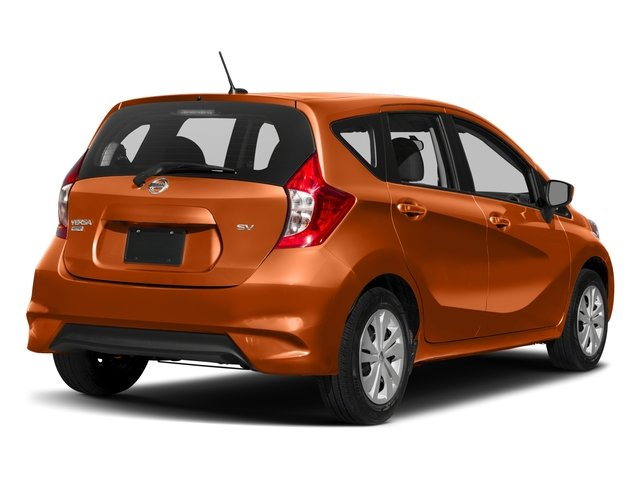 2017 Nissan Versa Note Prices and Values Hatchback 5D Note S Plus I4 side rear view
