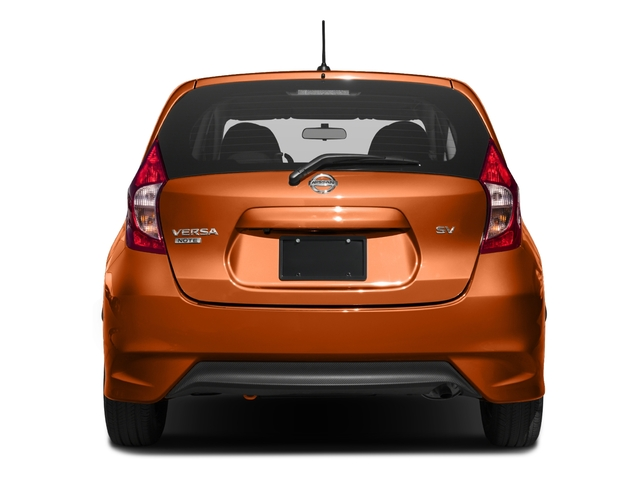 2017 Nissan Versa Note Prices and Values Hatchback 5D Note S Plus I4 rear view