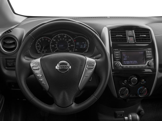 2017 Nissan Versa Note Prices and Values Hatchback 5D Note S Plus I4 driver's dashboard