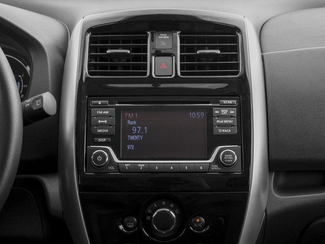 2017 Nissan Versa Note Prices and Values Hatchback 5D Note S Plus I4 stereo system