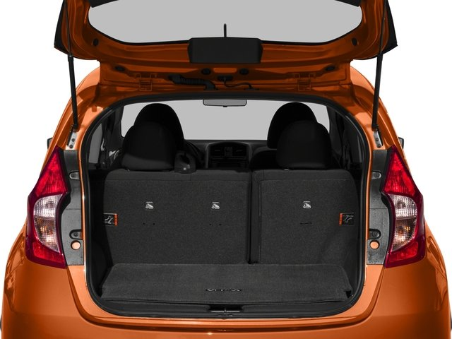 2017 Nissan Versa Note Prices and Values Hatchback 5D Note S Plus I4 open trunk