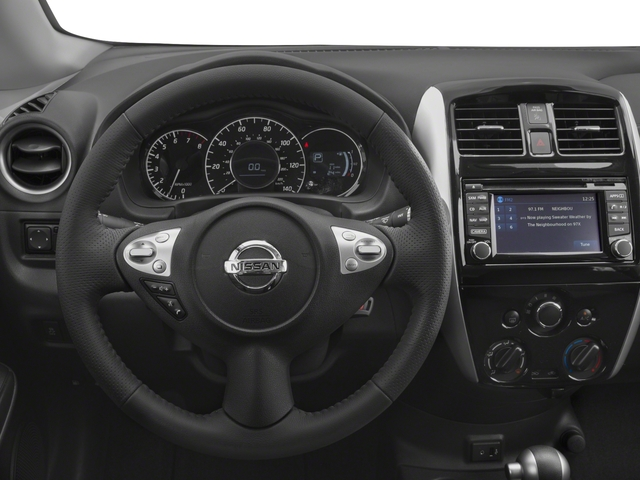 2017 Nissan Versa Note Prices and Values Hatchback 5D Note SR I4 driver's dashboard
