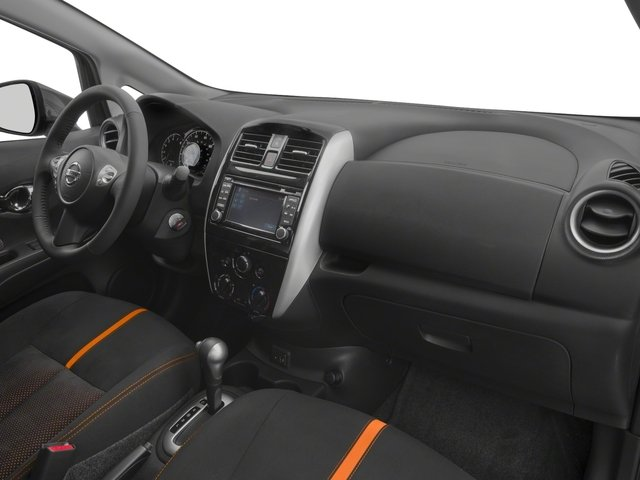 2017 Nissan Versa Note Prices and Values Hatchback 5D Note SR I4 passenger's dashboard