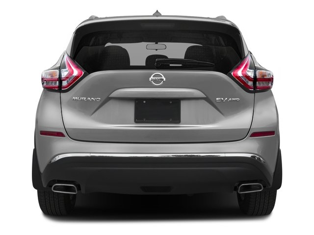 2017 Nissan Murano Pictures Murano 2017.5 FWD S photos rear view