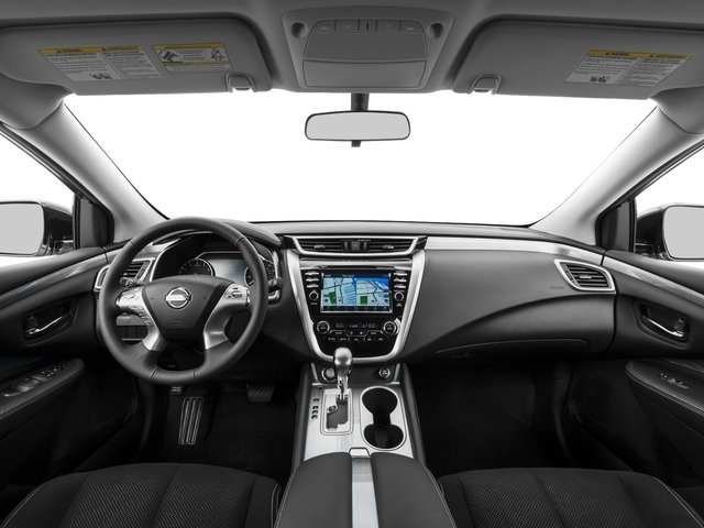 2017 Nissan Murano Pictures Murano 2017.5 FWD SV photos full dashboard