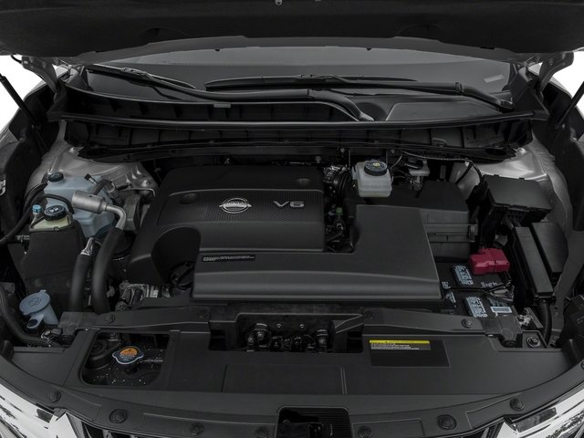 2017 Nissan Murano Pictures Murano Utility 4D SV AWD V6 photos engine