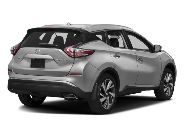 2017 Nissan Murano Prices and Values Utility 4D SL 2WD V6 side rear view