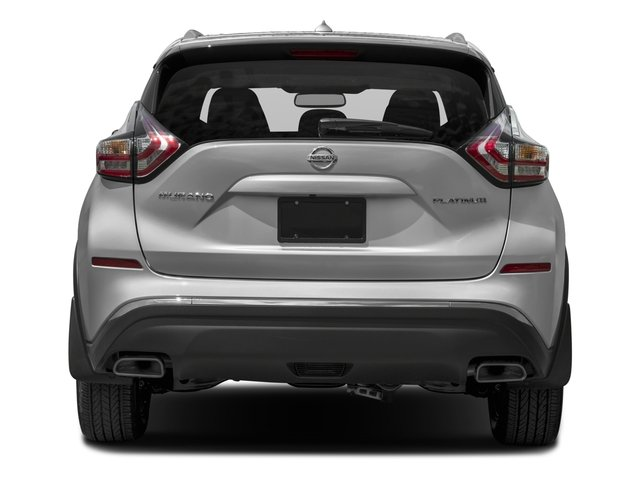 2017 Nissan Murano Pictures Murano 2017.5 FWD Platinum photos rear view