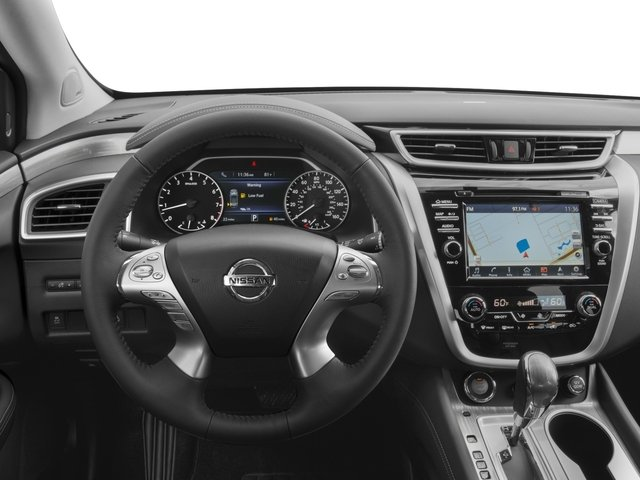 2017 Nissan Murano Prices and Values Utility 4D SL 2WD V6 driver's dashboard