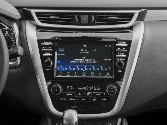 2017 Nissan Murano Prices and Values Utility 4D SL 2WD V6 stereo system