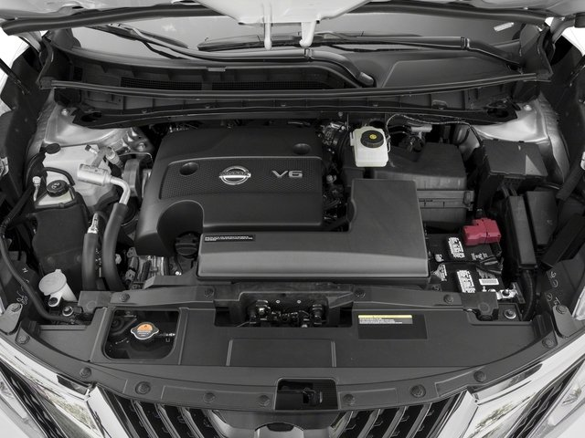 2017 Nissan Murano Pictures Murano 2017.5 FWD Platinum photos engine