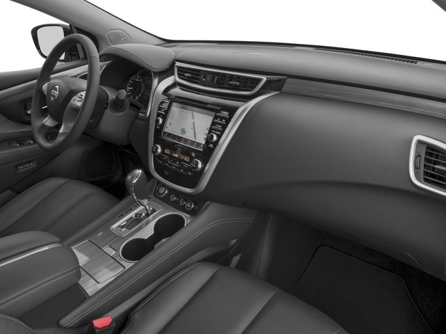 2017 Nissan Murano Prices and Values Utility 4D SL 2WD V6 passenger's dashboard