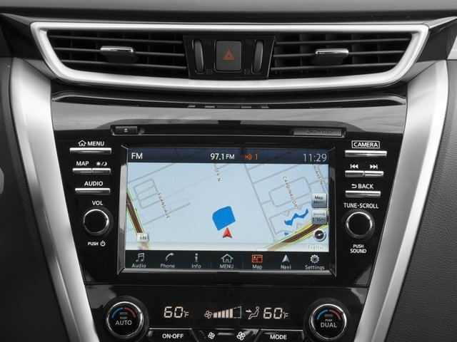 2017 Nissan Murano Prices and Values Utility 4D SL 2WD V6 navigation system