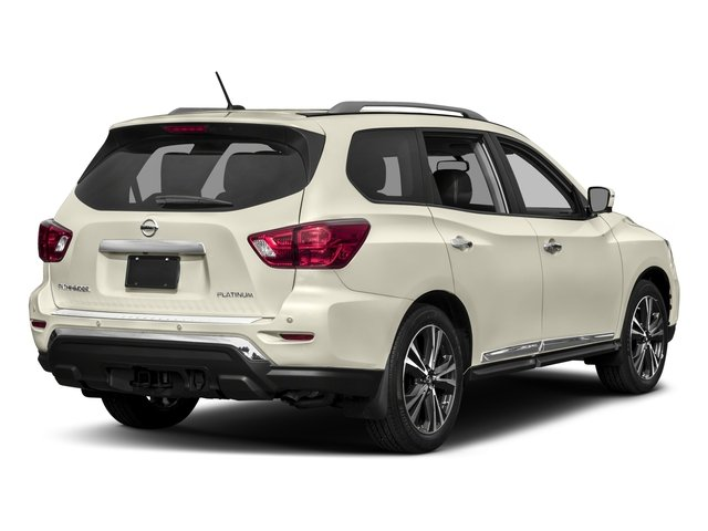 2017 Nissan Pathfinder Prices and Values Utility 4D Platinum 2WD V6 side rear view