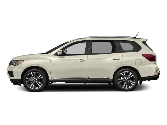 2017 Nissan Pathfinder Prices and Values Utility 4D Platinum 2WD V6 side view