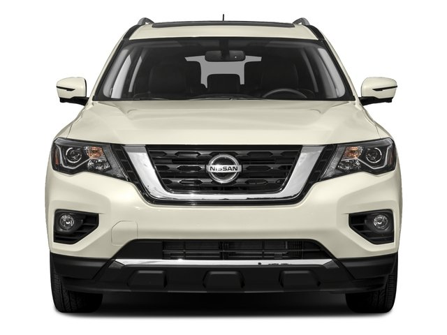 2017 Nissan Pathfinder Prices and Values Utility 4D Platinum 2WD V6 front view