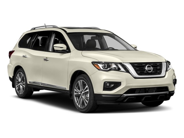 2017 Nissan Pathfinder Prices and Values Utility 4D Platinum 2WD V6 side front view